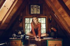 Cabin office / girl not included