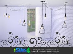 SIMcredible!'s Nuance Ceiling Lamp