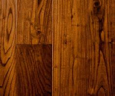 Teak hardwood features orange under tones