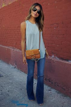 Sincerely Jules Flare Jeans