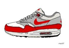 Nike air max one - by Nick cocozza #sneakers #design
