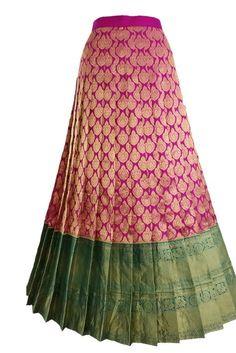 - Half Saree Lehenga, Lehenga Saree Design, Lehnga Dress, Lehenga Designs, Kurta Designs, Saree Blouse Designs, Saree Gown, Anarkali, Kids Lehenga