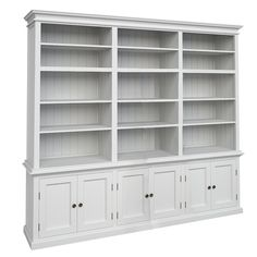 "Halifax Triple Tower Hutch 86.6"" Oversized Set"