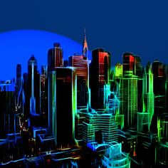 New York Colors Painting by Stefan Kuhn