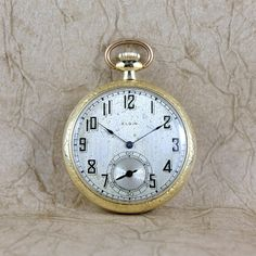 Hey, I found this really awesome Etsy listing at https://www.etsy.com/listing/163797014/vintage-elgin-pocket-watch-circa-1925-7