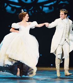#Cinderella with Laura Osnes and Santino Fontana as the Prince - Broadway #musical by Rodgers & Hammerstein
