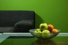 ¡Llena tu hogar de #COLOR y atrévete a usar tonos intensos!   #Verde #Comex #habitación #decoración #hogar