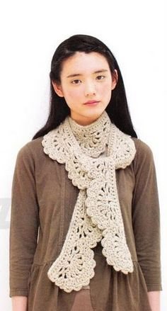 Knit And Wedding // Bridal Accessories and Free pattern: free crochet scarf pattern