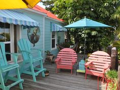 Pass-a-Grille's Waterfront Charmer, Key West... deck