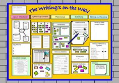 Working wall - The wall should exemplify the writing process from the 'reading as a writer' stage…