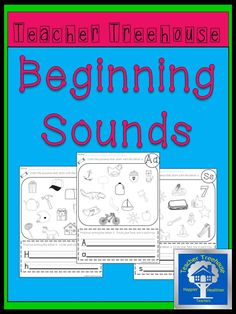 26 worksheets-one for each letter. Students color the pictures that start with the letter sound then practice writing the letter. Perfect activity for centers in Preschool or Kindergarten.
