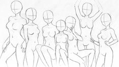 New drawing poses ideas deviantart Ideas Doodle Drawings, Art Drawings Sketches, Easy Drawings, Drawing Base, Figure Drawing, Easy Doodle Art, Easy Doodles, Drawing Reference Poses, Drawing Ideas