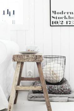 White, Wood & Grey
