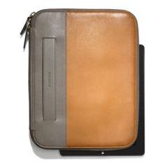The Bleecker Tablet Organizer In Colorblock Leather from Coach - #waytoocute