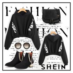 """""""Shein contest: Win $30 coupon from Shein!"""" by edina-danis ❤ liked on Polyvore featuring Gucci"""