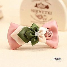 842 child baby accessories hair accessory pitching headband nude color bow female child tousheng hair rope-in Hair Accessories from Apparel - Salvabrani Ribbon Art, Ribbon Hair Bows, Diy Hair Bows, Diy Bow, Diy Ribbon, Bow Hair Clips, Ribbon Crafts, Flower Crafts, Hair Bow Tutorial