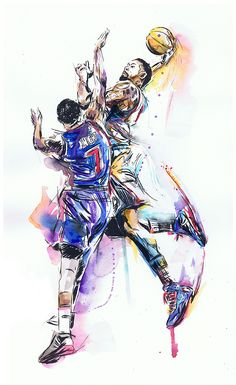 DeAndre Jordan 'Dunk of the Year' Painting