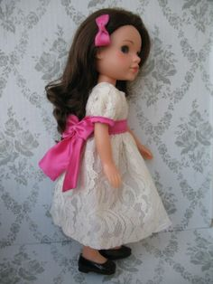 """Clothes for Hearts For Hearts Girls Dolls~H4H~14"""" Handmade Doll Party Dress from eBay seller pachom10"""