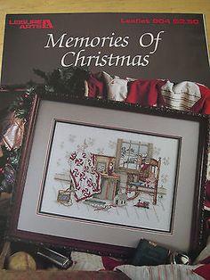 Paula Vaughan''s Memories Of Christmas Cross Stitch Pattern Leaflet 904. Book 34