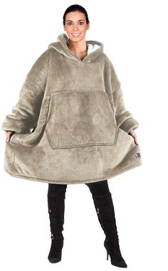 Catalonia Oversized Hoodie Blanket Sweatshirt,Super Soft Warm Comfortable Sherpa Giant Pullover with Large Front Pocket,for Adults Men Women Teenagers Kids,Camel: Home & Kitchen Teen Girl Gifts, Tween Girls, 13 Year Old Christmas Gifts, Girls Winter Jackets, Wearable Blanket, Tank Shirt, Hoodies, Sweatshirts, Pullover