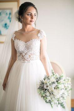 New Bridal Tiara Updo Bridesmaid Ideas Wedding Frocks, Saree Wedding, Wedding Gowns, Desi Wedding, Wedding Bouquet, Wedding Ideas, Christian Bride, Indian Bridal Outfits, Mariage