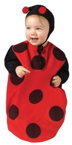 "Ladybug Bunting Infant Baby Costume 25"" Inches 3-6 Months #FunWorld #CompleteCostume"