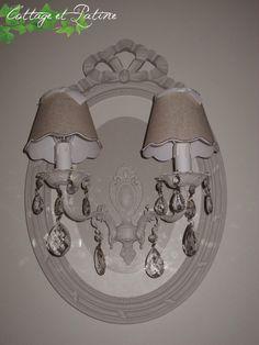 Cottage et Patine créa luminaire Mme CV 6