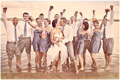 thats really friggin cute. Too bad you don't have a wedding party. Maybe for Costa Rica?