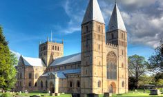 Southwell Minster commands the view in this Nottinghamshire town but it also features a rich artistic and historical heritage