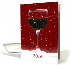 Happy New Year Red Wine and Snow card. Personalize any greeting card for no additional cost! Cards are shipped the Next Business Day. Product ID: 1389502 Best Wine Clubs, Barolo Wine, Wine Auctions, Buy Wine Online, Wine Baskets, Wine Subscription, Wine Brands, Wine Deals, Wine Case