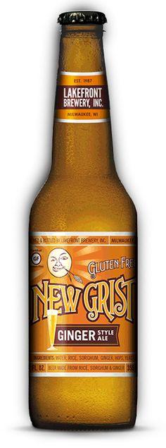 New Grist Ginger Bottle-Gluten Free