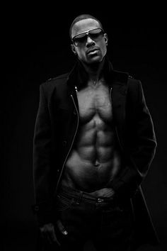 Lance Gross Handsome.