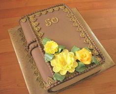 Výsledok vyhľadávania obrázkov pre dopyt torta kniha Birthday Party Themes, Cake Decorating, Decorative Boxes, Rose, Desserts, Cakes, Anna, Husband, 50 Birthday Cakes