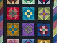 Amish Shoo Fly Wall Hanging;  Amish Country Quilts
