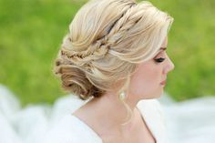up-do with braid