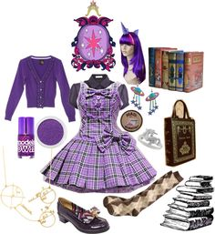 Twilight Sparkle (My Little Pony Friendship is Magic) Inspired Outfit!!! I'll probably have this awesome guy from my church, Nick make me a dress very closely to that one!!! Ya know so I can cosplay Twilight Sparkle!!! :)