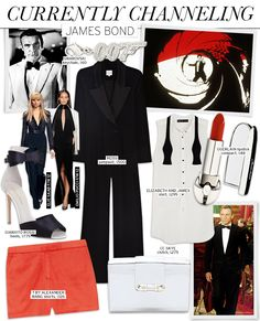 Timeless! Currently Channeling: James Bond - Celebrity Style and Fashion from WhoWhatWear