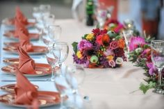 Coral & Wildflowers art de la table by F Zone Catering & Events www.fzone.gr