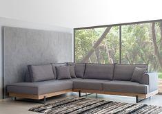 Νέα προσφορά: Καναπές Γωνία Prestige Ξύλινη μασίφ μπάζα από δρυ ρουστίκ Διάσταση 3,10cm x 2,40cm Ύφασμα αλέκιαστο - αδιάβροχο Δυνατότητα επιλογής διάστασης - υφάσματος Γραπτή εγγύηση 10 ετών Diy Sofa, Sofa Bed, Couch, Wooden Sofa Designs, Outdoor Furniture, Outdoor Decor, My House, Living Room, Home Decor