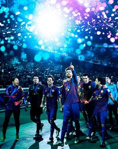 FCB is the best soccer team, also my favorite.