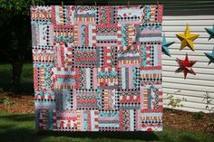 Love these fabrics...DITTO!!!! The fabrics make the simple quilt pattern spectacular!