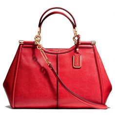 The Madison Caroline Satchel In Textured Leather from Coach. And a couple of these!! Please