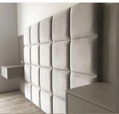 Tapizado cuadrando. Luxury Bedroom Design, Master Bedroom Interior, Bedroom Bed, Modern Bedroom, Bedroom Furniture, Furniture Design, Bedroom Decor, Bed Headboard Design, Headboards For Beds