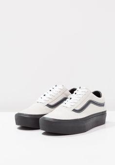 Vans OLD SKOOL PLATFORM - Zapatillas - blanc de blanc black - Zalando.es 065940fa2316