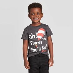 Toddler Boys' Graphic T-shirts : Target Stylish Mens Fashion, Old Boys, Toddler Boys, Short Sleeve Tee, Shirt Designs, Fashion Outfits, Tees, Charcoal, T Shirt