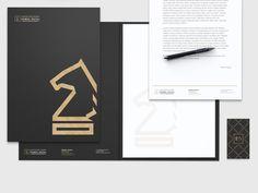 RATAJ law firm by Bart Zimny, via Behance