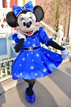 Sweet Minnie Mouse during the 25th Anniversary Celebration at Disneyland Paris