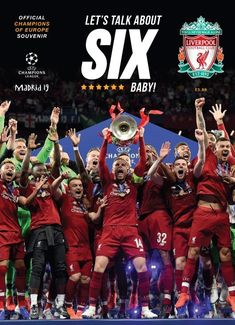 Kindle: Liverpool FC: Champions of Europe 2019 - Official Souvenir Magazine : Free eBook Liverpool FC: Champions of Europe 2019 - Official Souvenir Magazine Author Liverpool Football Club Liverpool Fc Team, Liverpool Fc Champions League, Liverpool Anfield, Liverpool Tattoo, Liverpool History, Liverpool Fc Wallpaper, Liverpool Wallpapers, Lfc Wallpaper, Madrid
