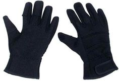 MFH Fingerhandschuhe, Combat, Neopren, schwarz / mehr Infos auf: www.Guntia-Militaria-Shop.de