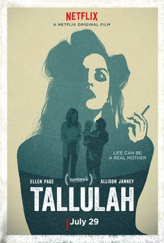 Watch the first trailer for 'Tallulah,' coming to Netflix in July 2016 and starring Ellen Page, Allison Janney, Zachary Quinto, and Uzo Aduba. Netflix Movies, Hd Movies, Movies To Watch, Movies Online, Movies And Tv Shows, Movie Tv, Urban Movies, Movies Free, Movies 2019